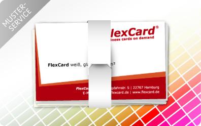 Visitenkarten Von Flexcard Der Visitenkarten Spezialist